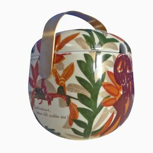 Vintage Porcelain Ragout Bowl by Timo Sarpaneva & Hab Grieshaber for Rosenthal