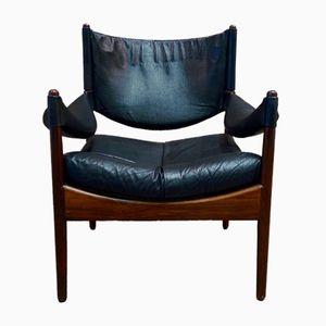 Modus Rosewood Chair by Kristian Solmer Vedel for Soren Willadsen, 1975