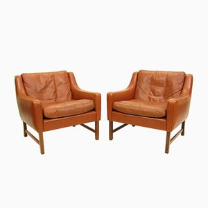 Lounge Chairs by Fredrik Kayser for Vatne, 1960s, Set of 2