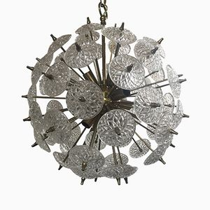 Sputnik Lampe von Val St. Lambert, 1960er