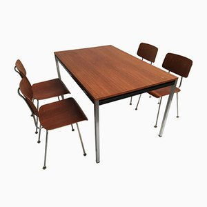 Model 1263 Chairs and Dining Table by A.R. Cordemeijer for Gispen, 1960s