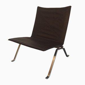 Niedriger Vintage PK22 Sessel von Poul Kjaerholm für Kold Christensen, 1950er