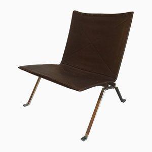 Niedriger PK22 Sessel von Poul Kjaerholm für Kold Christensen, 1950er