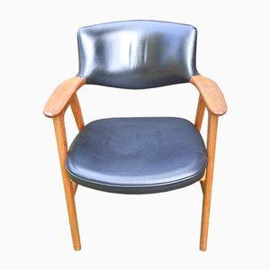 Mid-Century Side Chair by Erik Kirkegaard for Høng Stolefabrik, 1950s