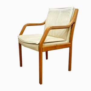 Leather & Palissander Chair from Knoll, 1950s