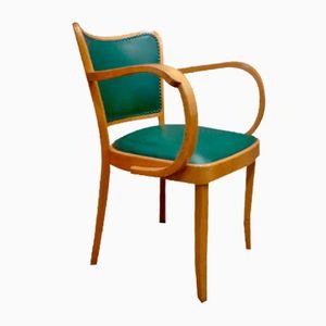 Beech Armchair from Thonet, 1950s