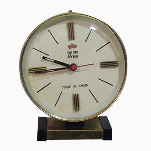 Horloge de Table Vintage de Hero, Chine