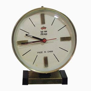 Vintage Chinese Table Clock from Hero