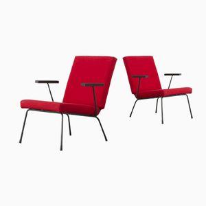 Modell 1401 P7 Sessel von Wim Rietveld für Gispen, 1960er, 2er Set