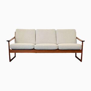 3-Seater Teak Sofa by Peter Hvidt & Orla Mølgaard Nielsen for France & Søn, 1960s