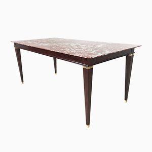 Table de Salon en Marbre et en Palissandre par Paolo Buffa, 1950s