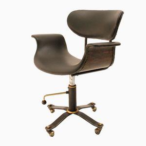 Mid-Century Italian Office Armchair, 1960s