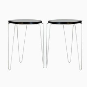 Vintage Model 75 Stacking Stools by Florence Knoll for Knoll, Set of 2