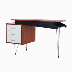 Mid-Century Hairpin Leg Writing Desk by Cees Braakman for Pastoe