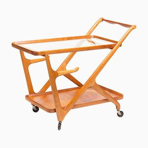 Mid-Century Serving Cart by Cesare Lacca for Cassina