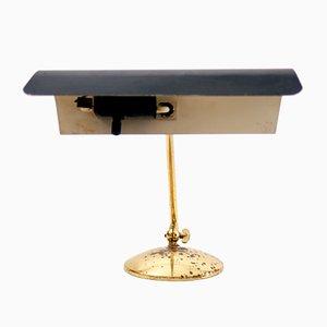 Mid-Century German Brass Desk Lamp