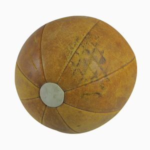 Vintage Hand-Sewn Medicine Ball
