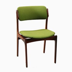 Model 49 Rosewood Dining Chair by Erik Buch for Odense Maskinsnedkeri, 1960s