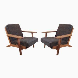 Vintage GE290 Stühle von Hans Wegner für Getama, 2er Set