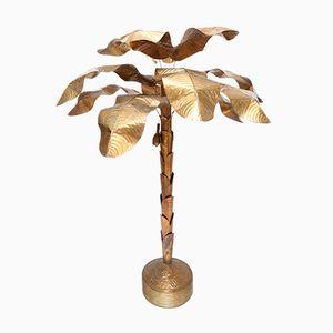 Banana Plant Palm Tree Floor Lamp, 1970s