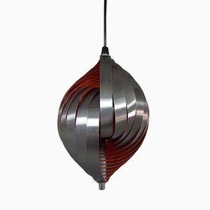 Lampe à Suspension par Henri Mathieu pour Lyfa, 1970s