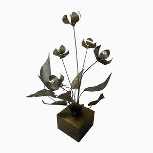 Vintage Flower Lamp, 1970
