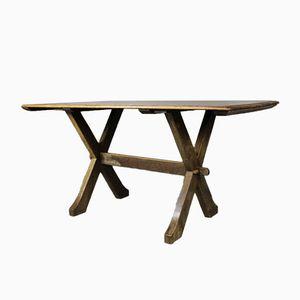 Table de Réfectoir Art Plastique en Chêne