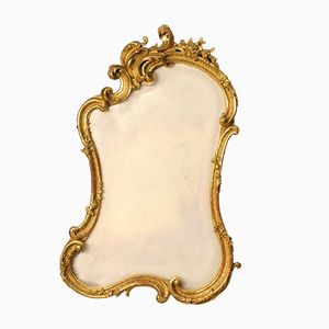 Late 19th Century French Gilded Mirror