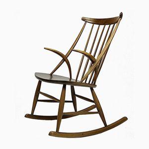 Vintage Rocking Chair by Illum Wikkelsø for N. Eilersen