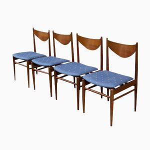 Mid-Century Dining Chairs from Welzel, 1960s, Set of 4