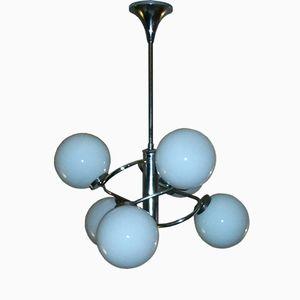 Vintage Sputnik Style Ceiling Light