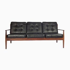 Mid-Century Drei-Sitzer Sofa von Grete Jalk für France & Son