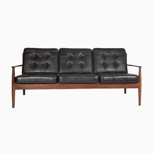 Mid-Century Three-Seater Sofa by Grete Jalk for France & Son