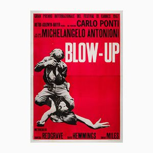 Vintage Italian Blow-Up Film Poster, 1967