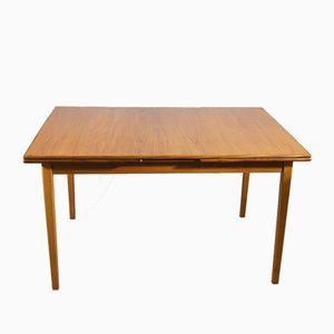 Vintage Scandinavian Teak Extendable Dining Table