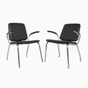 Armchairs by Martin de Wit for Gispen, 1960s, Set of 2