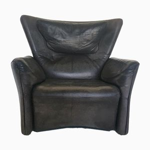 Italian Reclining Leather Chair from Busnelli, 1970s