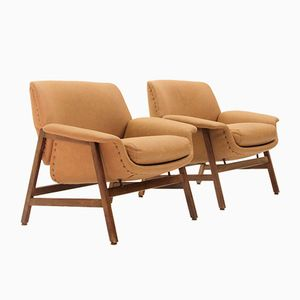 Modell 849 Sessel von Gianfranco Frattini für Cassina, 1956, 2er Set