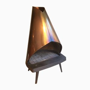 Open Fire Wood Burner from Kastor, 1970s