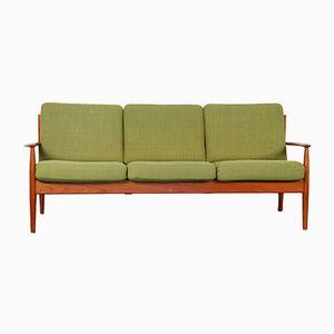 Vintage Model 118 Sofa by Grete Jalk for France & Son, 1960s