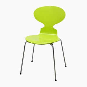 Hellgrüner 3101 Ant Chair von Arne Jacobsen für Fritz Hansen, 1950er