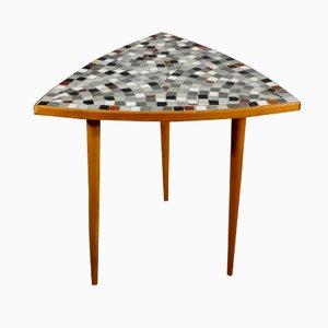 Vintage Beistelltisch mit Mosaik Tischplatte