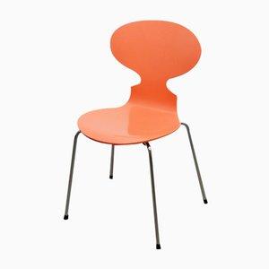 3101 Ant Stuhl in Pfirsichfarben von Arne Jacobsen für Fritz Hansen, 1950er