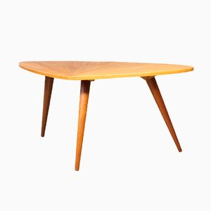 Dutch Coffee Table with Tapered Legs, 1960s