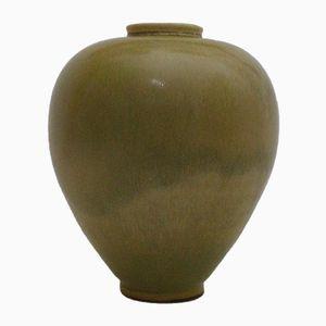 Keramik Vase von Berndt Friberg für Gustafsberg, 1953