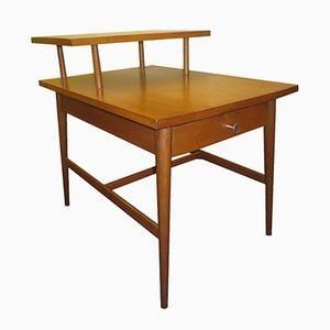 Mid-Century Maple 2-Tier Step Side Table by Paul McCobb for Winchendon