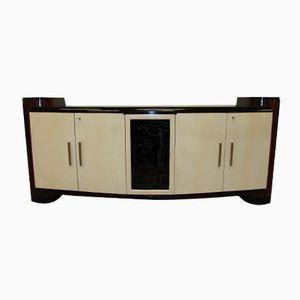 Art Deco Sideboard mit Pergament Türen, 1930er
