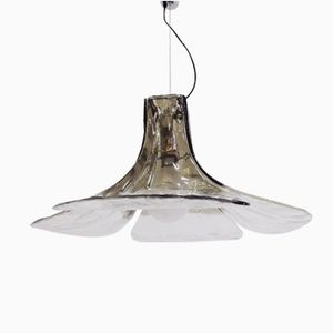 Vintage Hanging Lamp by Carlo Nason for Mazzega