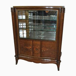 Vintage French Art Deco Display Cabinet