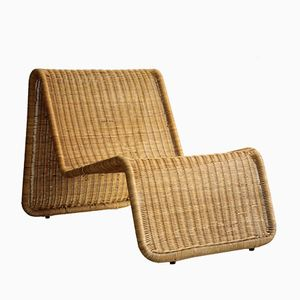 P3 Lounge Stuhl von Tito Agnoli für Bonacina, 1960er